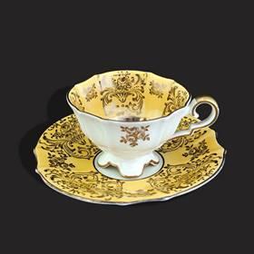 Resim Bavaria 24k altın iş fincan